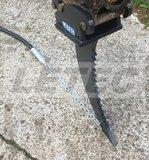 Trekkop D50mm met ketting_